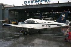 Olympic Aviation Piper PA-28-140 Cherokee [SX-BDK] Aircraft Pictures, Jet Plane, Cherokee, Olympics, Aviation, History, Jet Engine, Historia, Cherokee Language