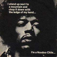 Jimi Hendrix ~ Voodoo Chile (Slight Return) / Hey Joe / All Along the Watchtower  (1970)