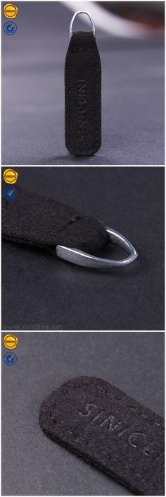 Black real leather zipper pullers, zipper pulls for garment.  #zipperpull #sinicline