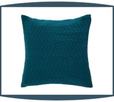 Sorrento Decorative Pillows in Cerulean by Michael Amini