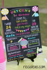 All about P! Sweet Shop First Birthday Party #birthday #firstbirthday #sweetshop