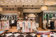 Ted Baker launched his first store in South Africa within Sandton City, Johannesburg. The 1960 square foot retail space will house Ted'. Baker Store, Retail Space, Store Displays, Retail Design, South Africa, Ted Baker, Swag, Store Windows, Retail