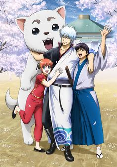 "The anime then returned as Gintama: Gin no Tamashii Hen (Gintama: Silver Soul Arc) on July and ended its run in October. The ""Gintama Shirogan. Anime Base, All Anime, Anime Guys, Anime Art Girl, Manga Art, Anime Manga, Recent Anime, Gintama Funny, Gintama Wallpaper"