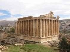 Lebanon ~ The Temple of Bacchus, the best preserved Roman temple of its size anywhere in the world.