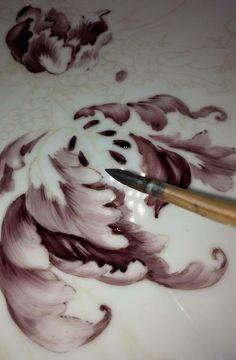 Painting porcelain