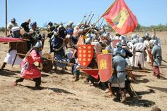 Spanish reenactment of the battle: navas de tolosa.