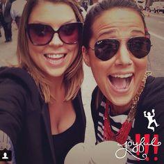 Joyful with my friend Sara, always.  find me on instagram: stephyscraps