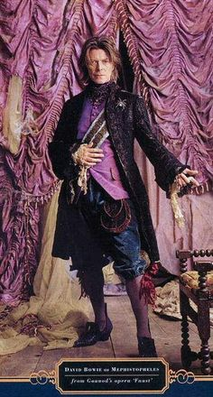 David Bowie as Mephistopheles