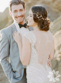 Wedding Dress Backs Part II. It's easy to focus attention on the front of a wedding gown. Wedding Dress Backs, Wedding Dress Pictures, Perfect Wedding Dress, Wedding Poses, Dream Wedding, Wedding Hair, Wedding Ideas, Beach Wedding Inspiration, Wedding Photography Inspiration