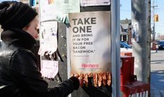 Outdoor ad: Rashers: Bacon Lovers by Ogilvy & Mather Toronto (cl)