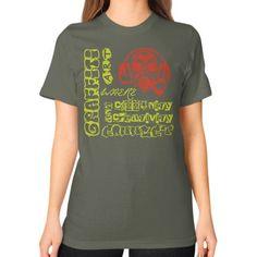 Graffitiart MUSIC Unisex T-Shirt (on woman)