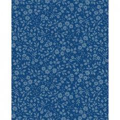 Tapetti Lovely Branches sininen 313045 | Virkkukoukkunen