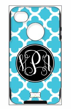 monogrammed otterbox cases... what could be better? I want one!
