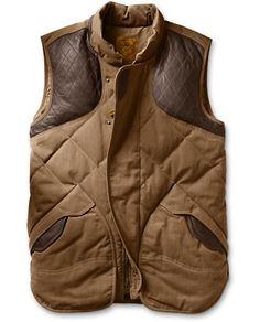 1936 Skyliner Hunting Model Expedition Cloth® Vest | Eddie Bauer