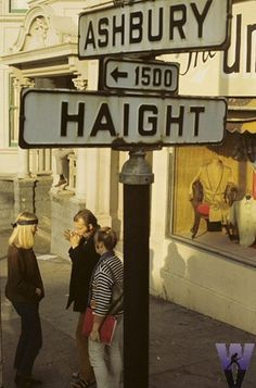 First stop on the San Francisco summer of love vacation...Haight Ashbury district! Shop till I drop!!