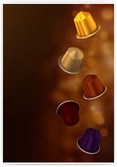 3D - Nespresso Capsules - Modeling & Rendering on Behance