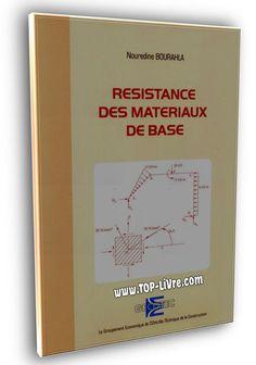 RESISTANCE DES MATERIAUX   par Nouredine Bourahla Civilization, Genie, Architecture, Writing Tips, Learning, Modern Townhouse, Livres, Arquitetura, Architecture Design