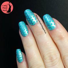 Lady Maid Nails: OMD3 Day 6, RWT Summer Dotting
