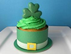 st. patricks cupcake cover