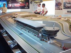Slot Cars. My dad took my brother and I to Geronimo's in Livonia on Saturdays to race.