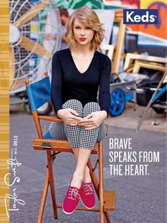 Taylor Swift is the Leading Lady of Keds Fall 2014 Campaign