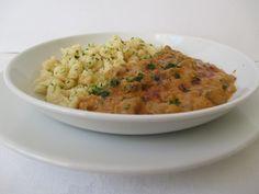 A gomb pörkölt szaftja liszttel és tejföllel habarva sűrűbb lesz, az étel kiadósabbá válik. Risotto, Ethnic Recipes