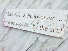 Beach Seaside Destination Wedding Signs Save The by TristanAndJuJu, $40.00