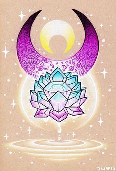 Silver Crystal - Commission by danniichan.deviantart.com on @DeviantArt