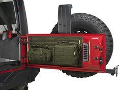 Smittybilt G.E.A.R. Tailgate Cover for 07-16 Jeep® Wrangler & Wrangler Unlimited JK | Quadratec