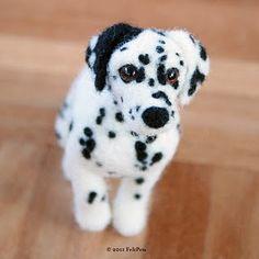 A felt replica of a beloved pet.