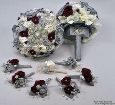 Couture Rose Ensemble by Blue Petyl #wedding #bouquet
