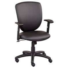 Network Faux Leather Task Chair #deskchair | National Business Furniture