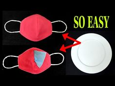 easy face mask Make Fabric Face Mask at home Diy Home Projects Easy, Sewing Projects For Beginners, Sewing Tutorials, Sewing Crafts, Sewing Patterns, Diy Crafts, Easy Face Masks, Diy Face Mask, Diy Couture