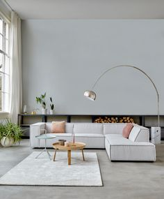 Sofa Design, Interior Design, Beautiful Living Rooms, White Walls, Home And Living, Interior Inspiration, Living Room Decor, Sweet Home, New Homes