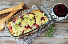 Caserola de pui Cauliflower, Eggs, Vegetables, Breakfast, Recipes, Food, Salads, Morning Coffee, Cauliflowers