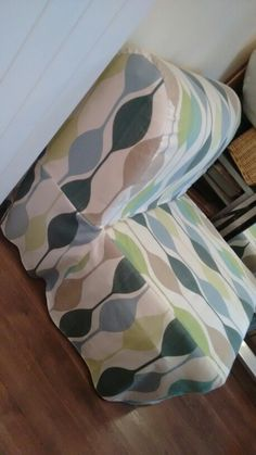 Diy chair bed cover Lycksele Ikea