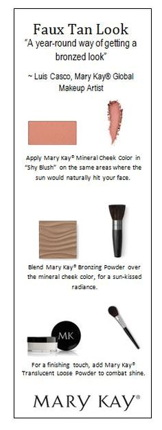 Take notes ladies…here's how to achieve a summer glow year-round, with Mary Kay Global Makeup Artist Luis Casco's faux tan technique!