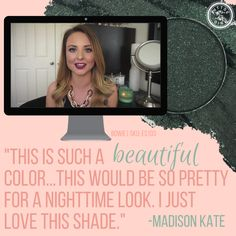 ittsē girl @mmadisonkate loves Bowie just as much as we do!  #eyeshadow #makeup #ittsegirl