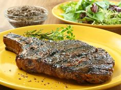 Coffee-Rubbed Steak for the Grill
