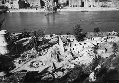 Szívszorító képeken a lerombolt Budapest Hungary, Tao, History, Historia