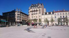 Place Thiers à Nancy, parvis gare