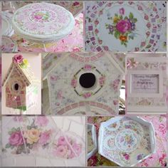 Gorgeous mosaics and shabby-chic projects... and the most excellent, detailed how-to's!