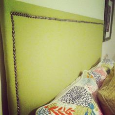Look for Less: DIY Fabric Headboard for Under $60