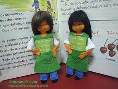 Las Cosicosas de Rosa: Maestra. Escuela pública de todos, para todos.  #cosicosas #fieltro
