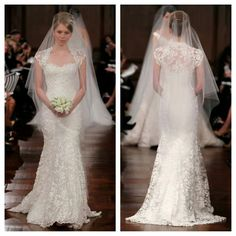 The dress the veil all very pretty♡♡ Wedding Looks, Dream Wedding, Sexy Dresses, Beautiful Dresses, Korean Bride, Strictly Weddings, Romantic Lace, Best Wedding Dresses, The Dress