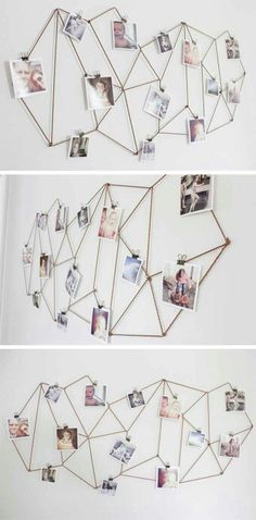 DIY picture display for a bedroom|| I'm doing this today:-)))