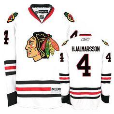 Chicago Blackhawks Niklas Hjalmarsson 4 White Authentic Jersey Sale