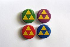 Legend of Zelda symbole Triforce 1.25 ou 2.25 par CosmicCreationsx