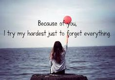 Because of you ...Kelly Clarkson