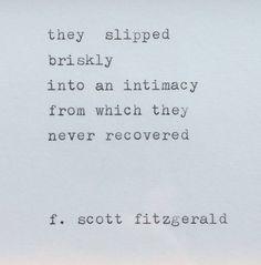 F. Scott Fitzgerald Love Quote Framed & Typed by WhiteCellarDoor